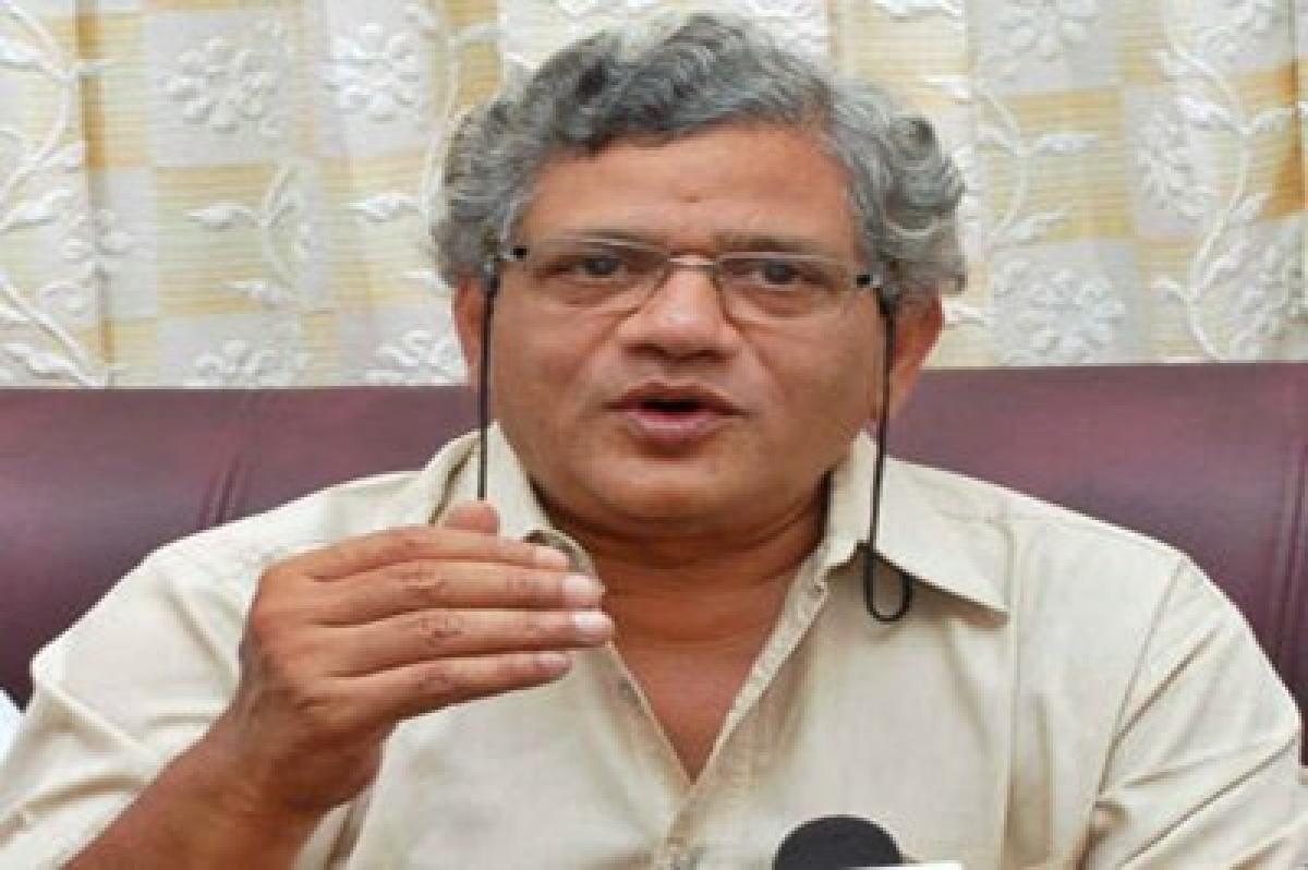 Narendra Modi govt policies will not work: Sitaram Yechury
