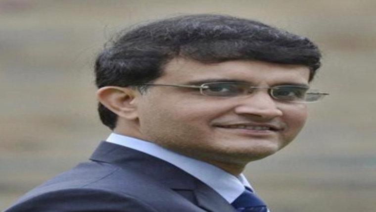 Former Indian Skipper Sourav Ganguly