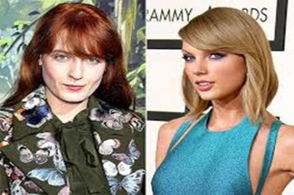 Florence Welch is electric: Taylor Swift