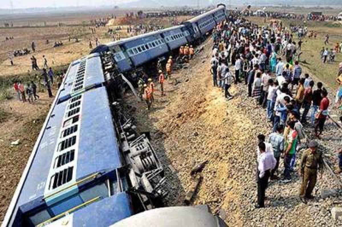 Passenger train derails in Assam, motorman seriously injured