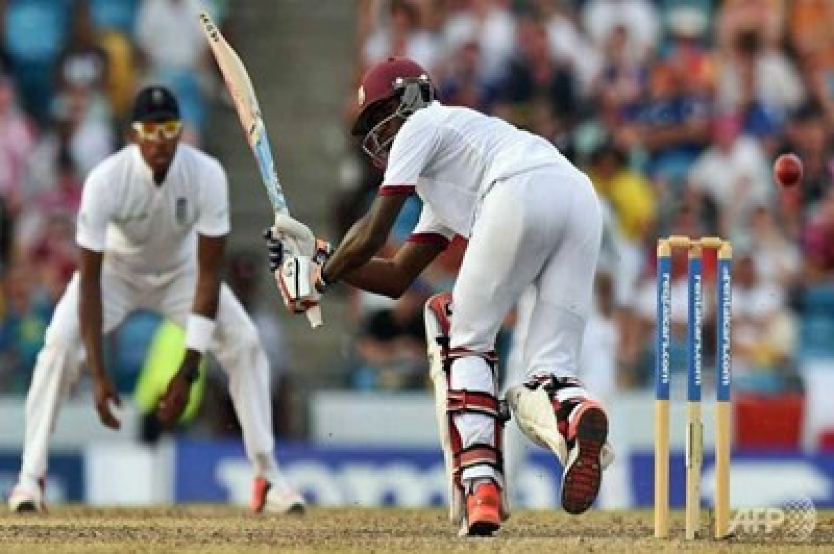 Battling West Indies win third Test by five wickets