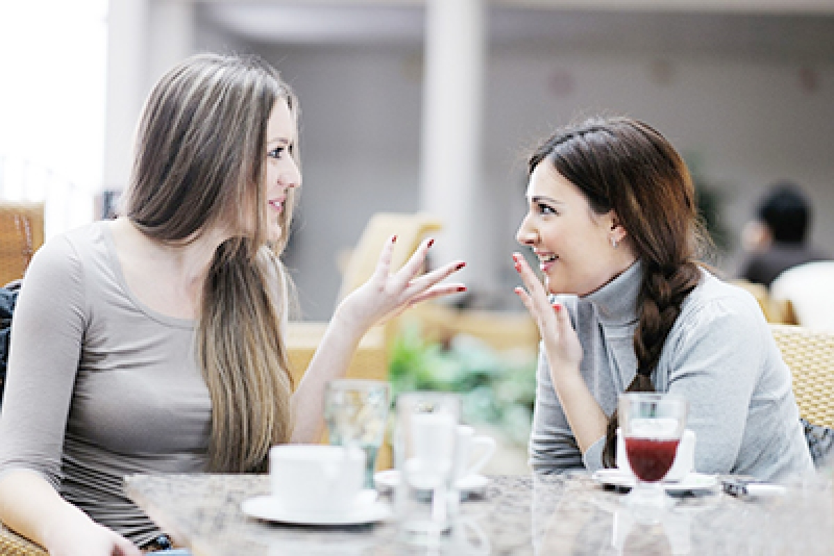 Gossiping good for your health