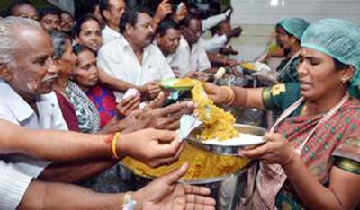In fifth stint, Jaya opens more 'Amma canteens'