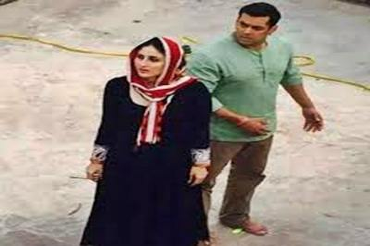 Actor Salman Khan shoots movie in Kashmir at 2 degrees below