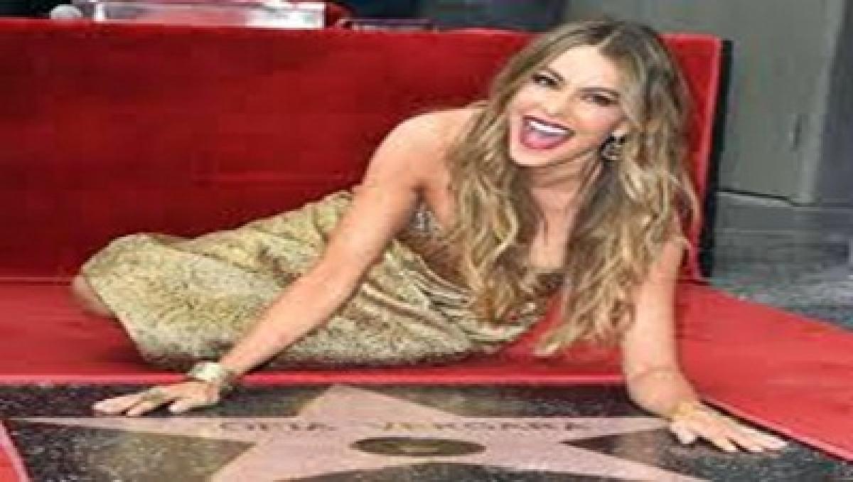 Sofia Vergara gets a star on the Hollywood Walk of Fame