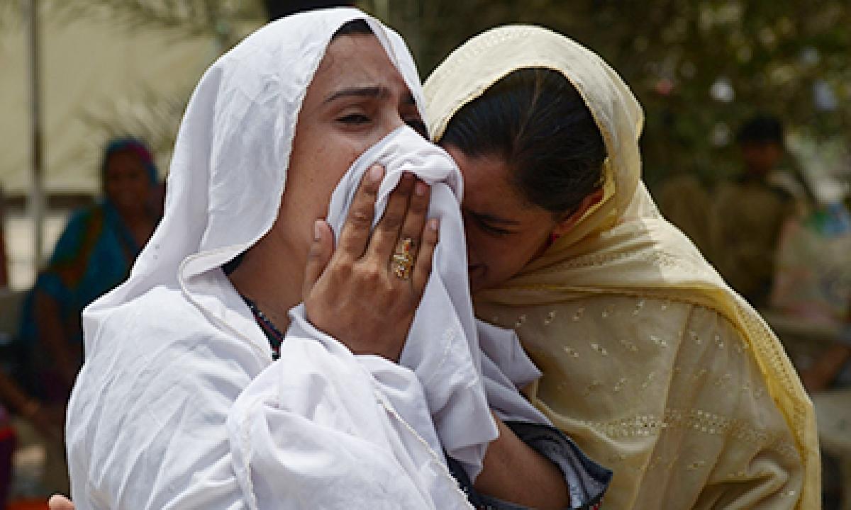 Brutal heatwave kills  630 people in Karachi