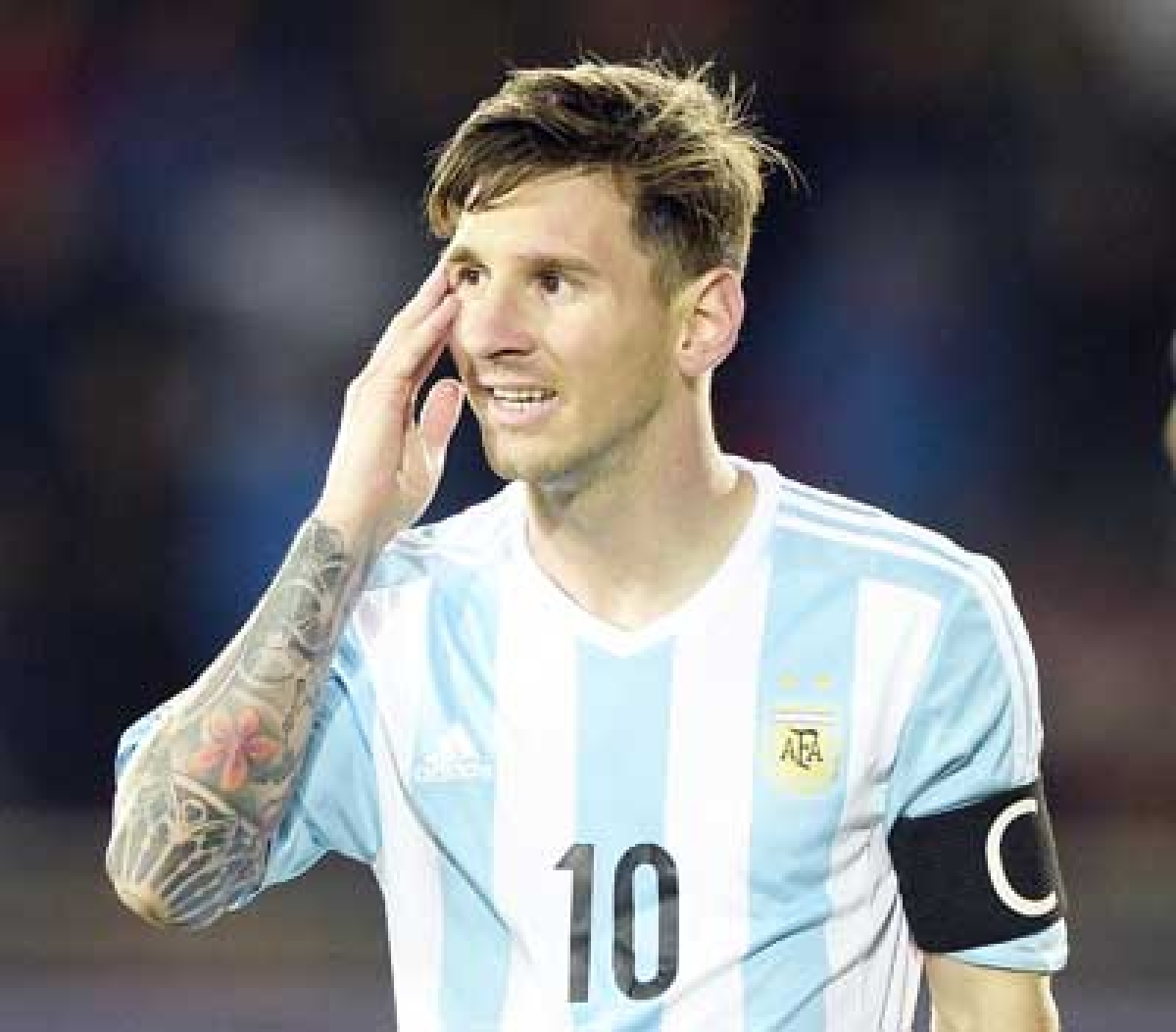 May turn midfielder in future: Messi
