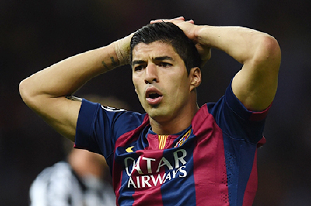 Luis Suarez ruled out for 4-6 weeks due to knee injury
