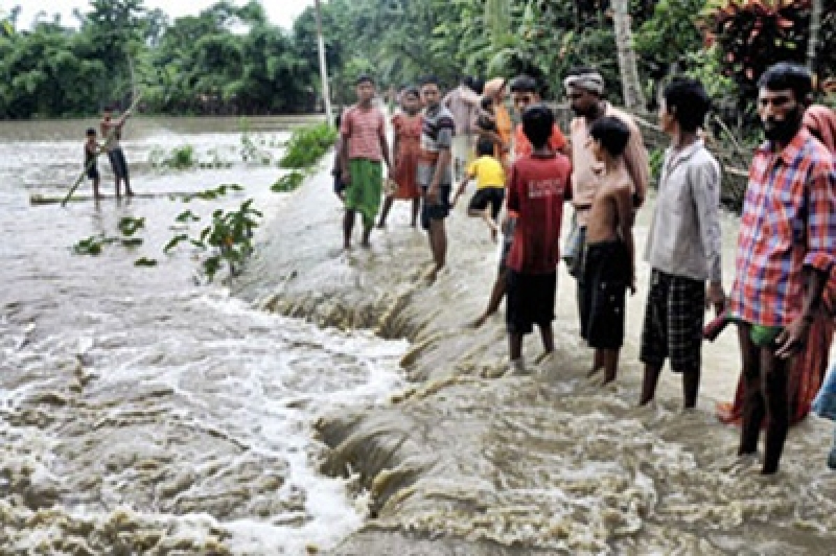 Arunachal rivers in spate due to incessant rains