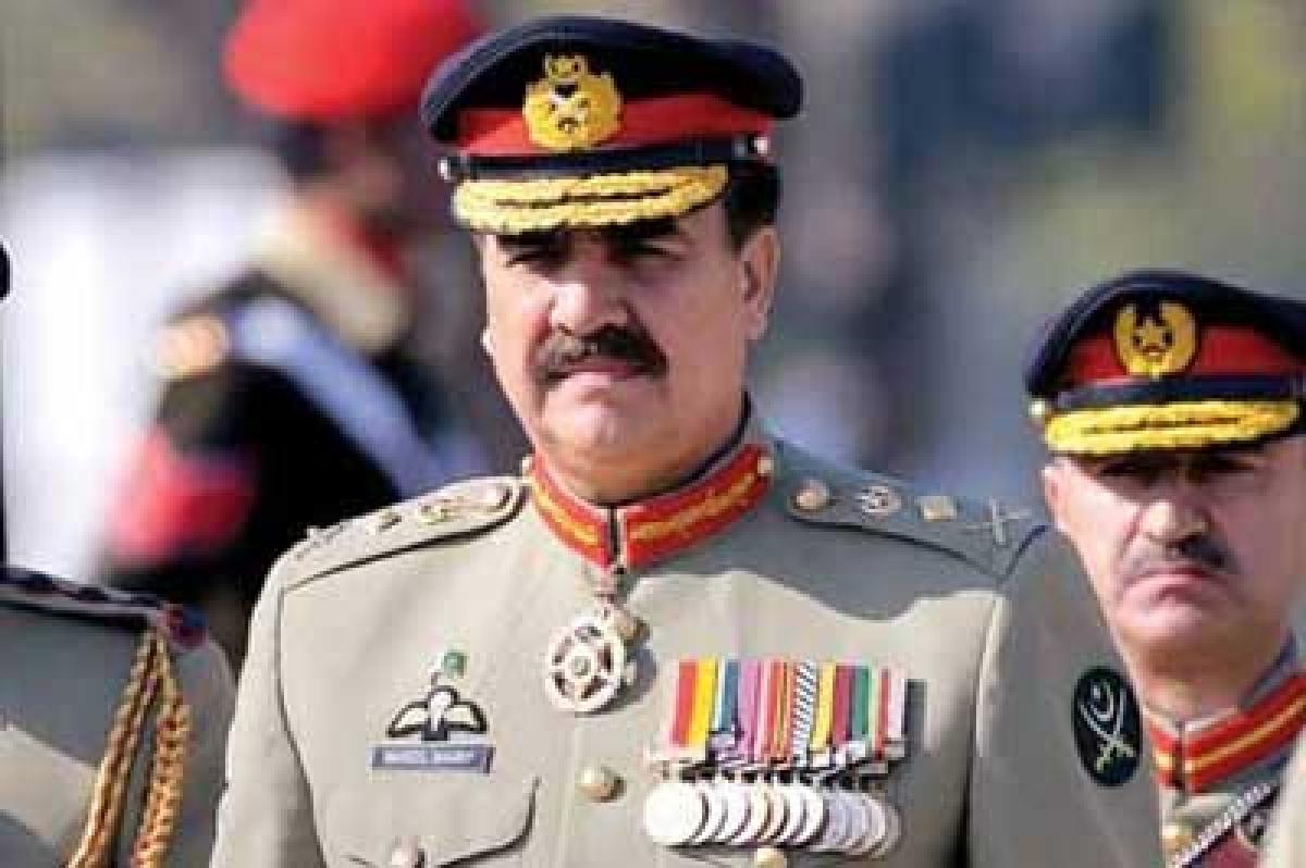 'India-backed terror' linked to LoC firing: Raheel Sharif
