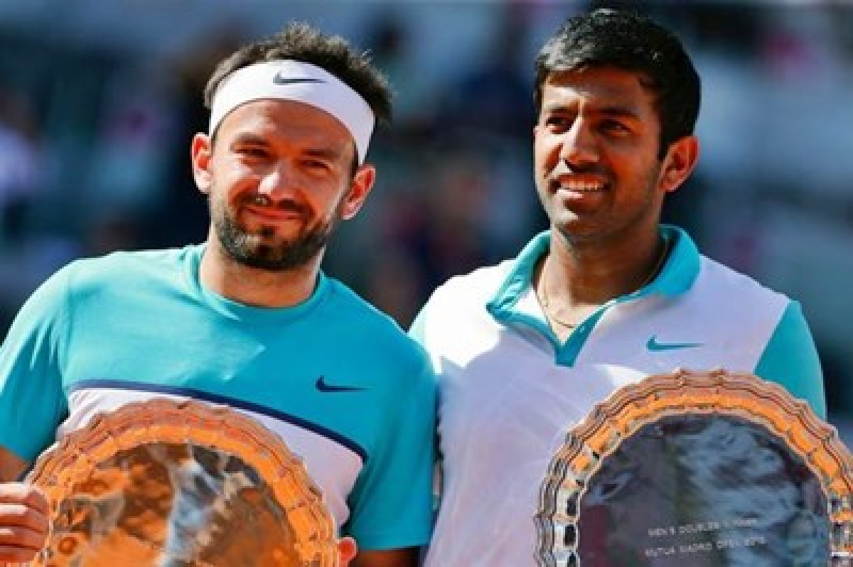 Rohan Bopanna-Florin Mergea advance to Wimbledon quarter-finals