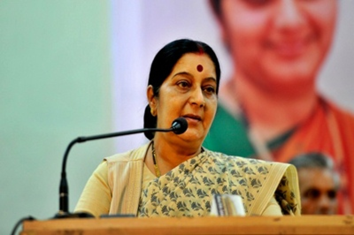 Indians have set a benchmark for close Indian-Egypt ties: Sushma Swaraj