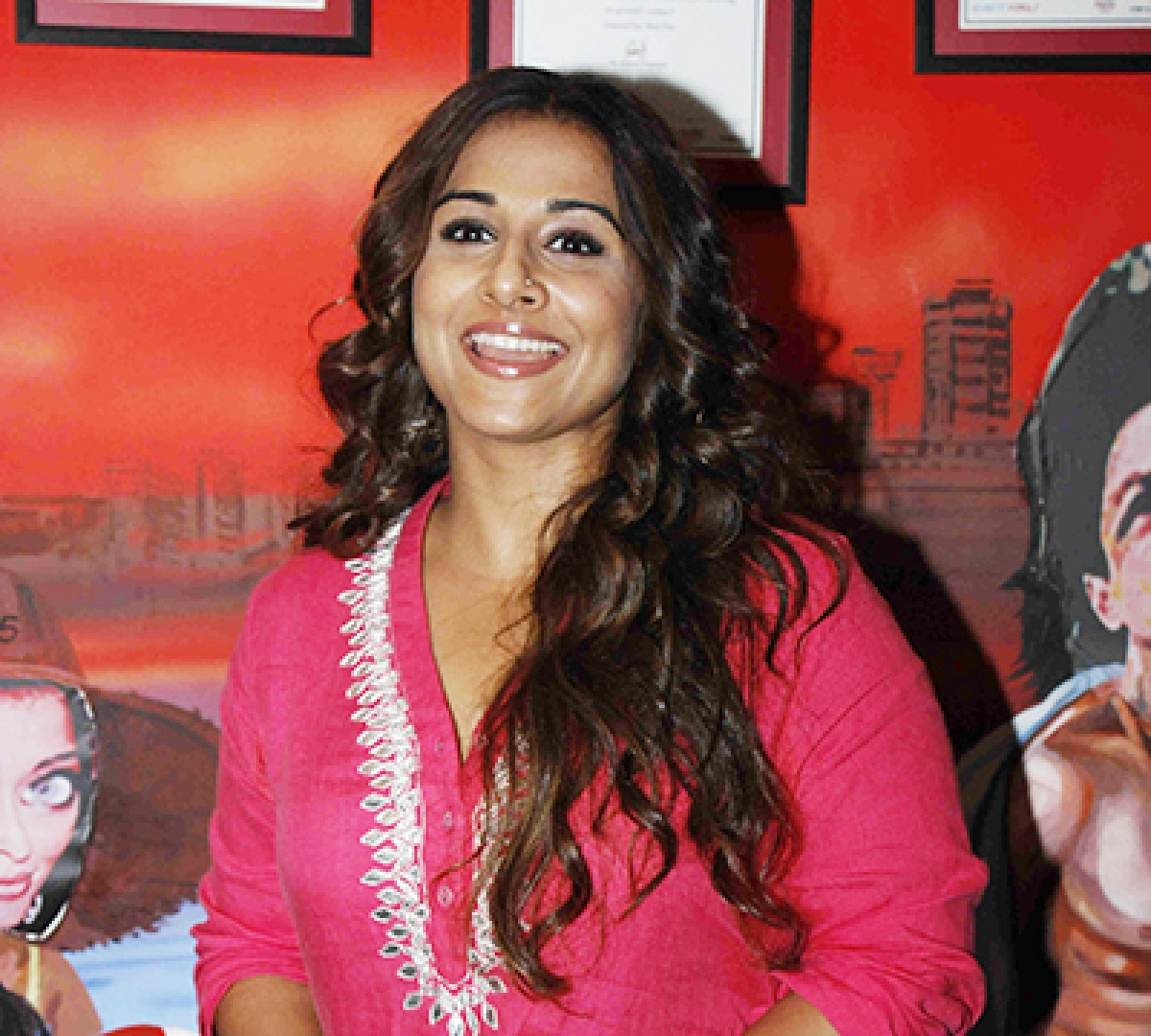 Vidya to be conferred  with Honorary Doctorate