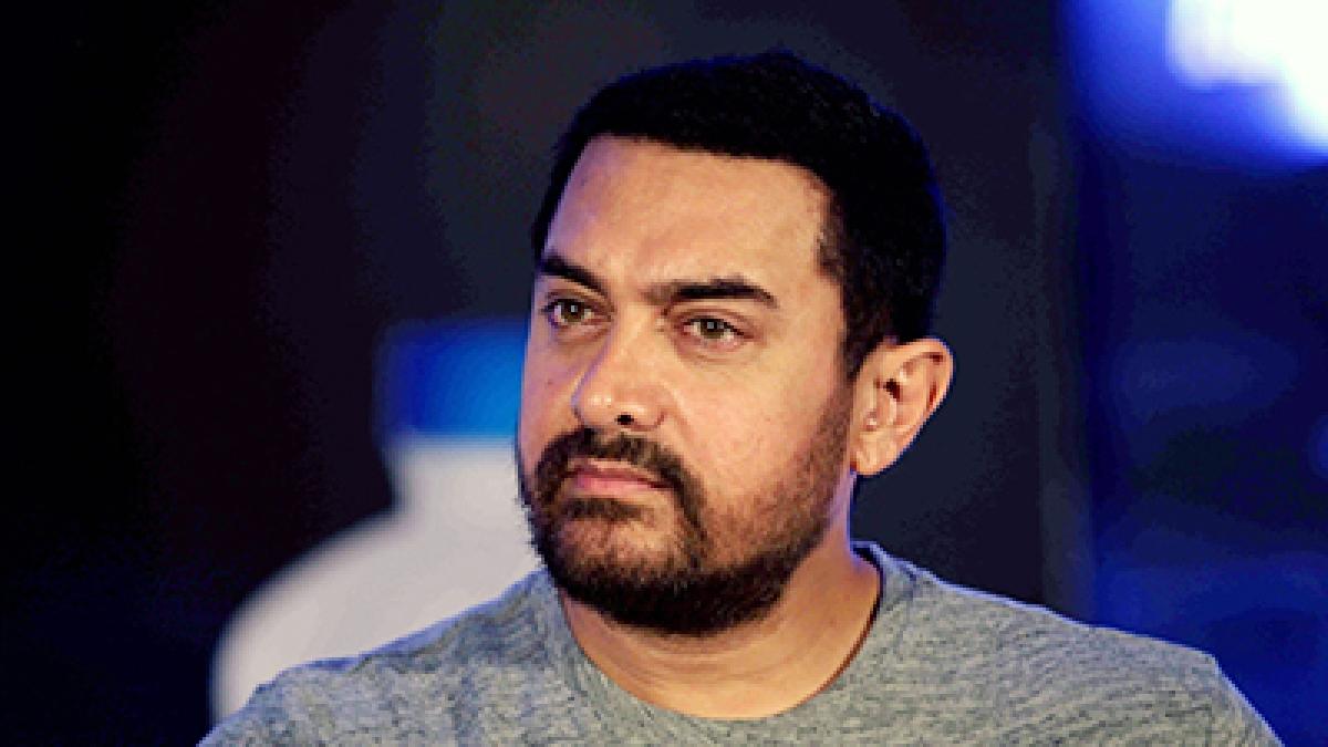 Indian Bollywood actor Aamir Khan