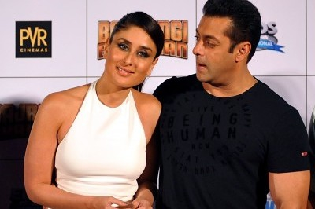 Salman Khan gifts Bajrangi Bhaijaan painting to Kareena Kapoor