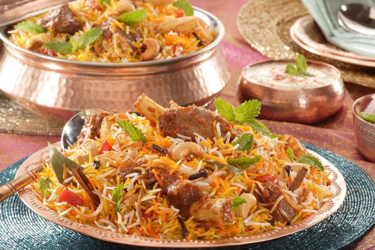Delicious Mutton Biryani at Delhi Darbar Picture Credits: www.burrp.com