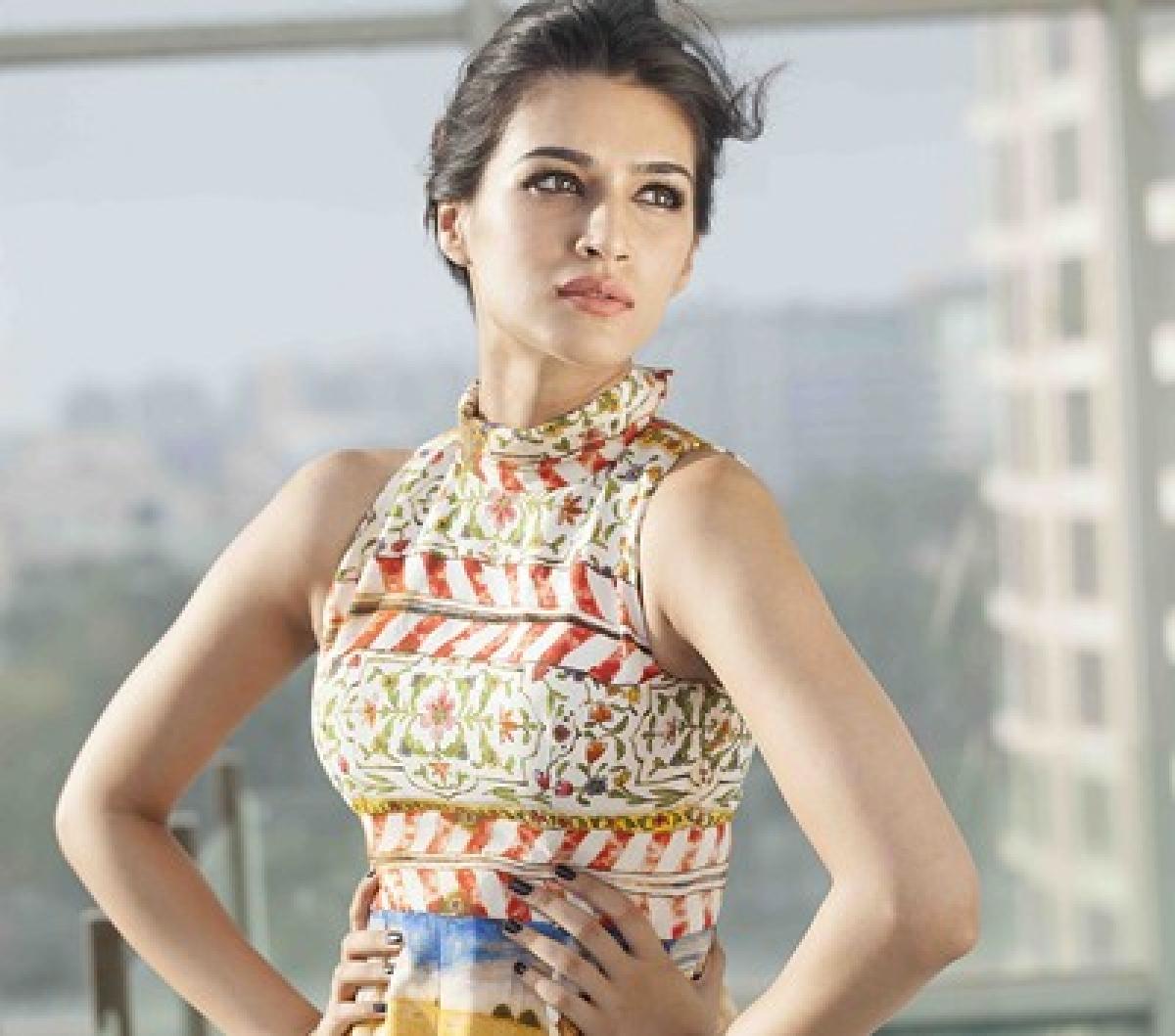 Kriti Sanon relishes on Punjabi songs