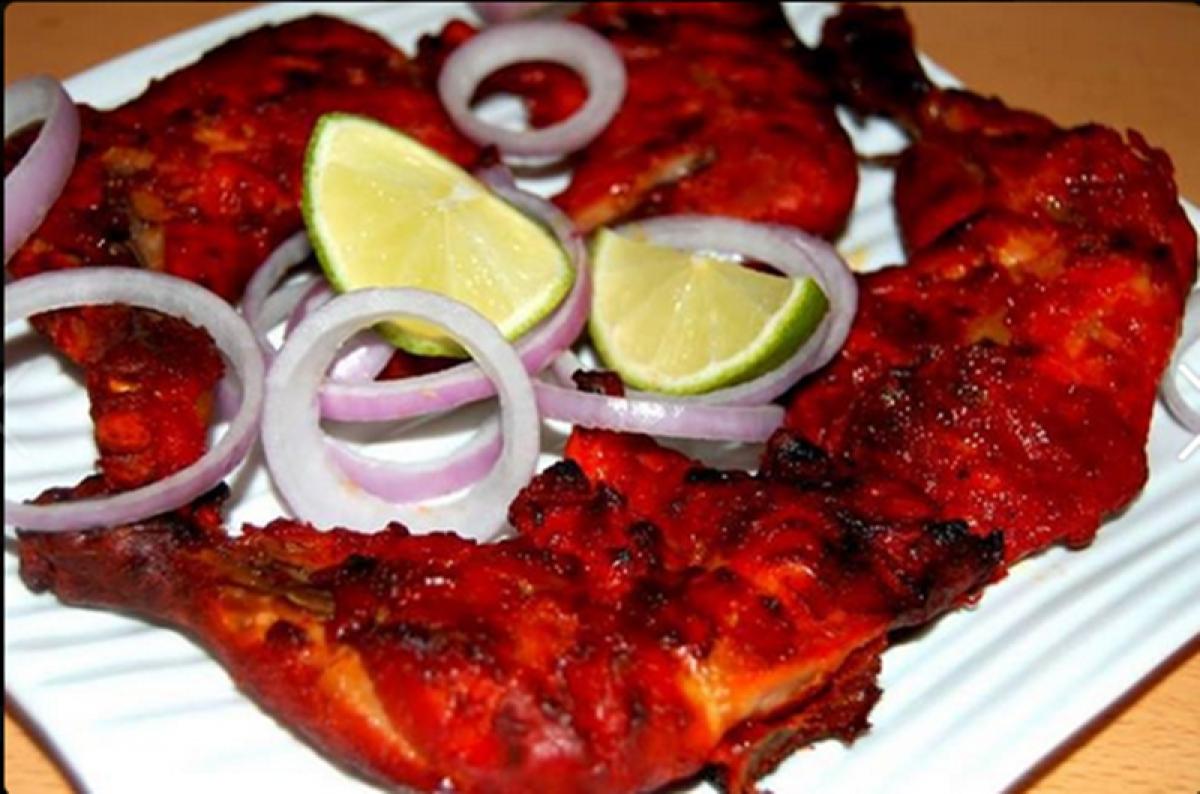Amazing Tandoori Chicken at Persia Darbar Picture Credits: Zomato
