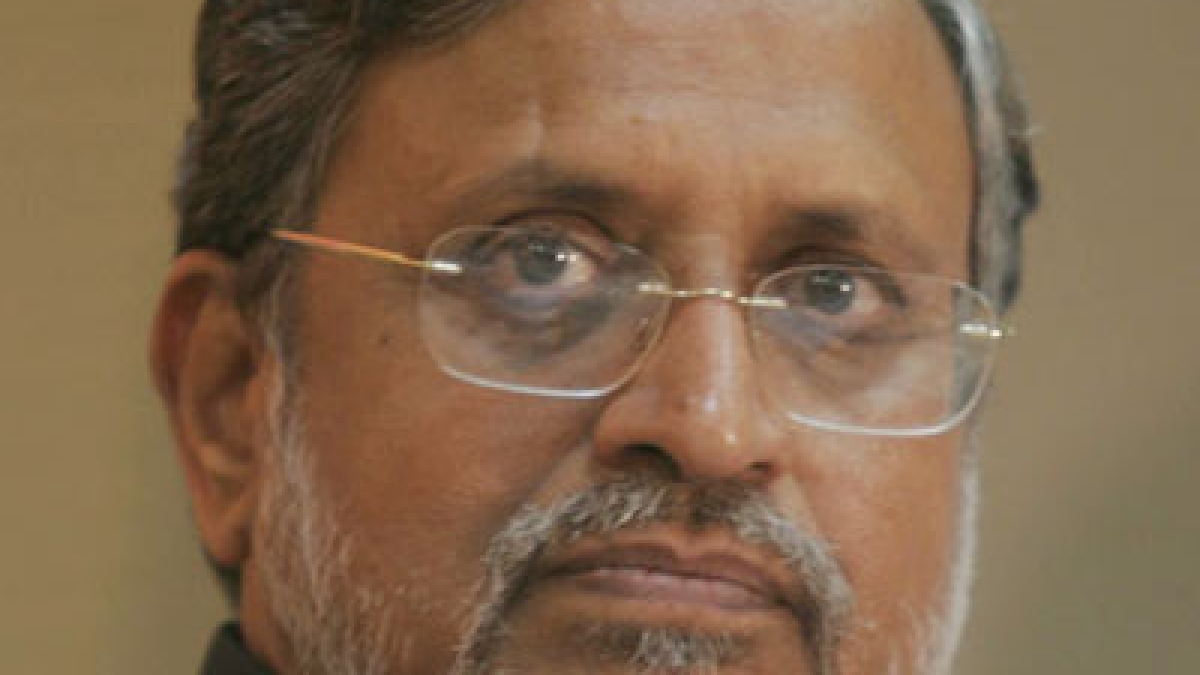 Sushil Modi draws flak for watching movie while Bihar battles flood