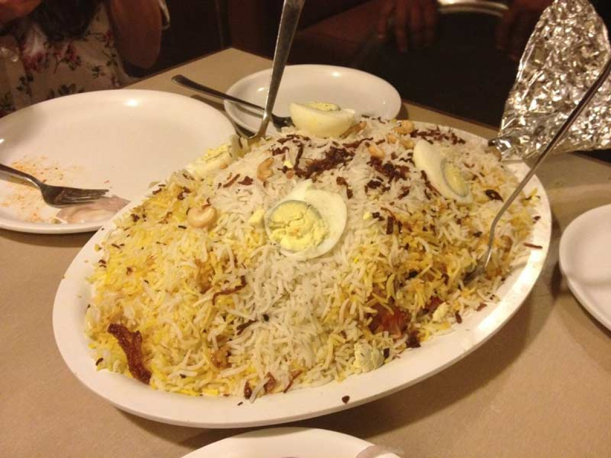 Fluffy Biryani Rice at Shalimar Picture Credits: homegrown.co.in