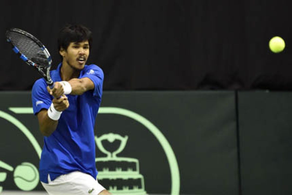 Yuki helps India share  honours in Davis Cup