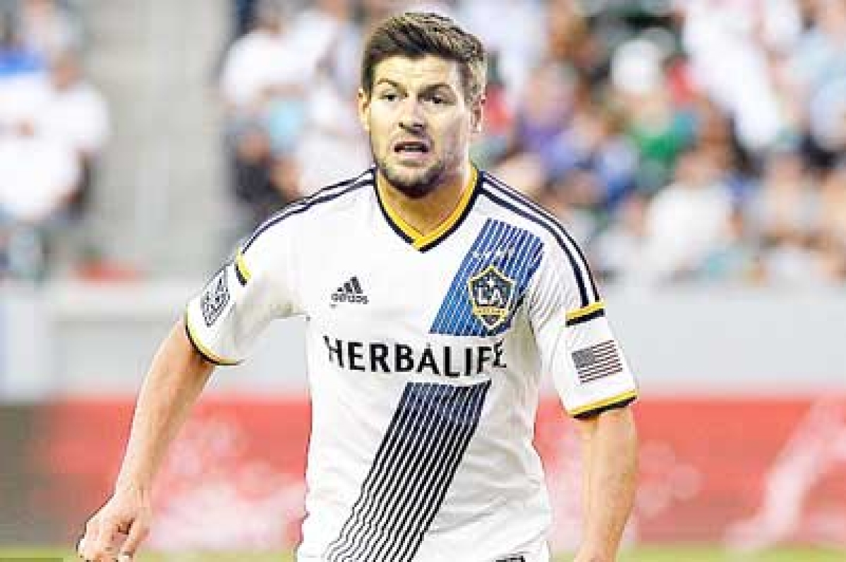 Steven Gerrard scores in Los Angeles Galaxy debut