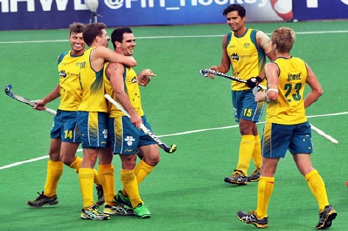 World champions Australia set up title clash with Belgium