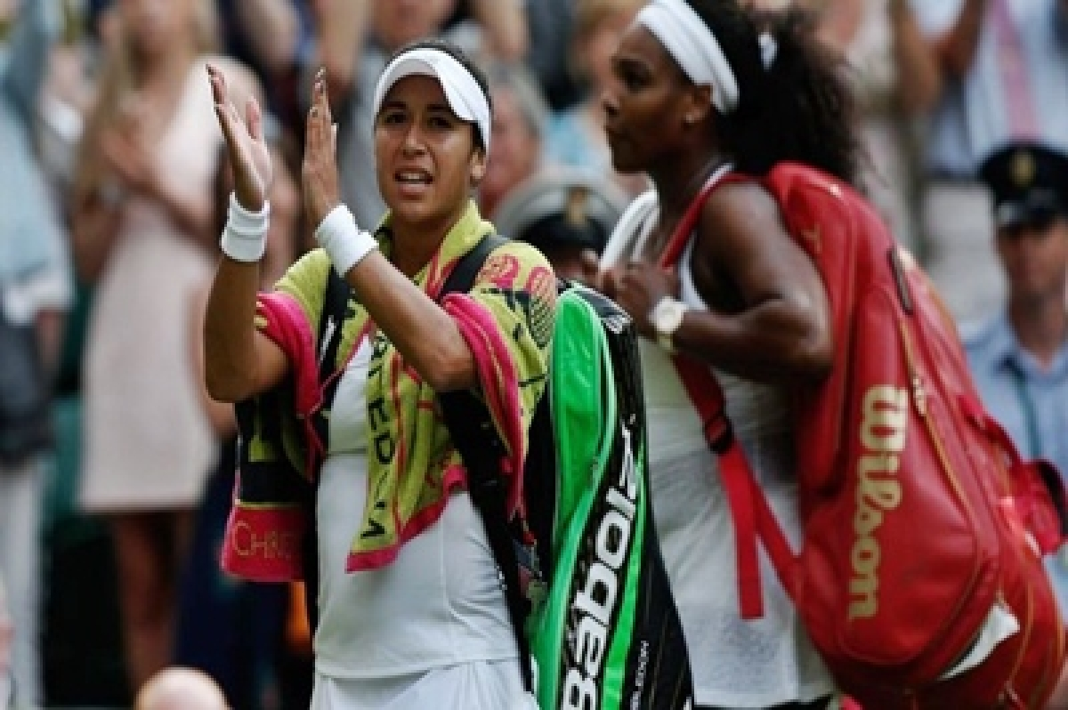 I can compete with the best, says Heather Watson after Wimbledon loss to Serena