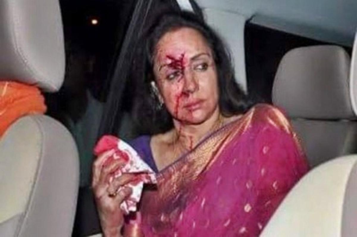 Hema Malini discharged from hospital