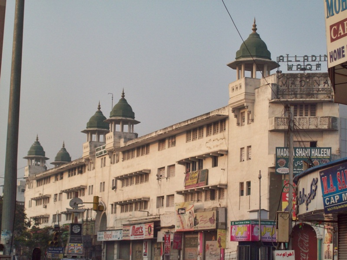 The royal hotel Madina<br />Picture Credits: Wikipedia