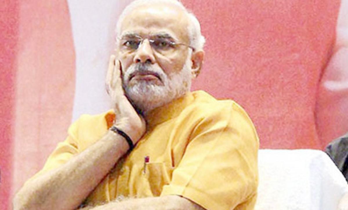 Never abuse, never block, Modi's tip-off to social media sena