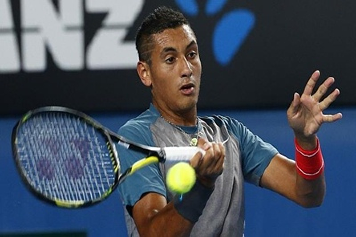 ATP fines, launches probe of Kyrgios over Wawrinka sex slur