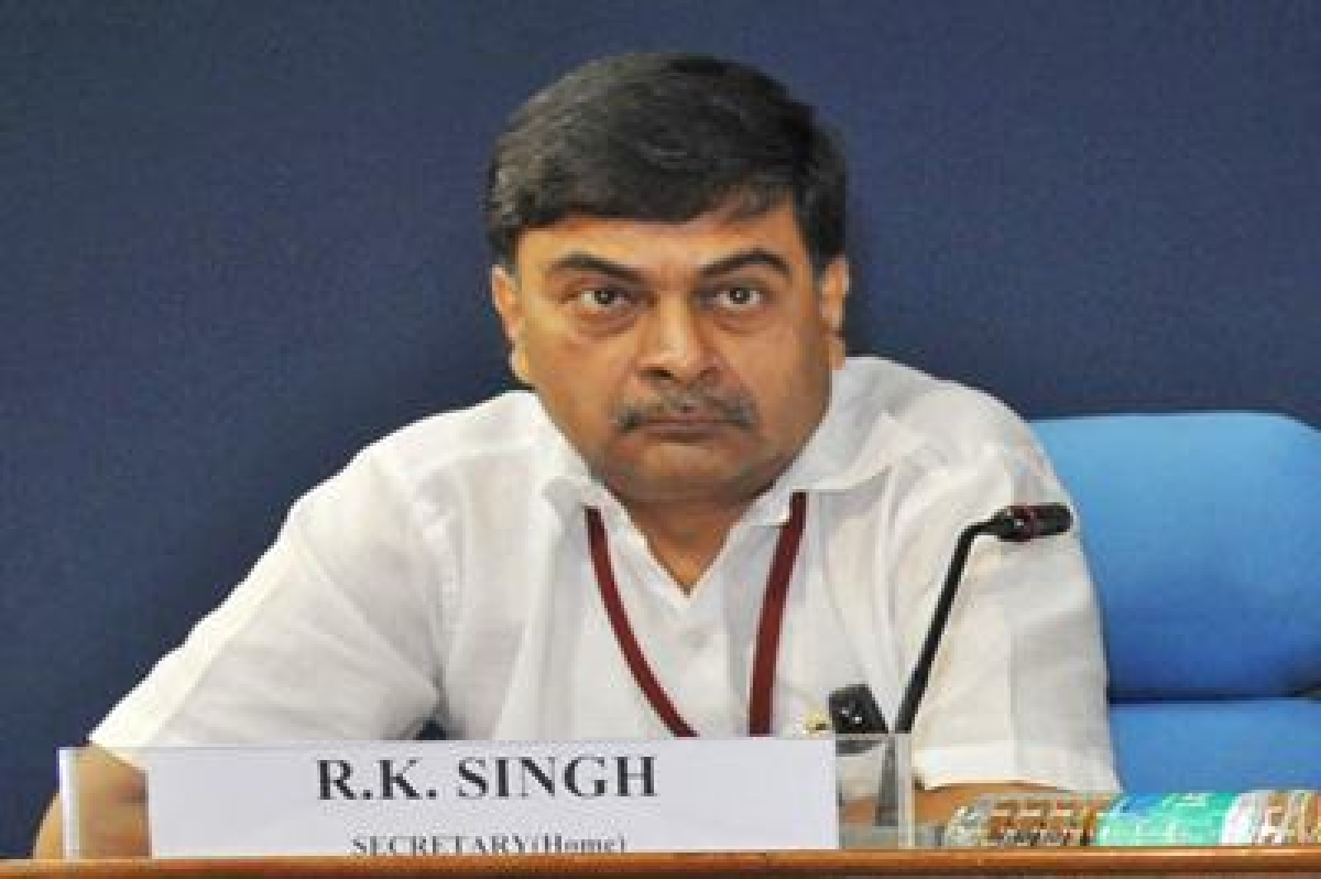 'We have to send a strong message to Pakistan': R.K. Singh