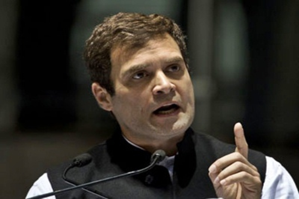 House will function once Swaraj answers questions: Rahul Gandhi