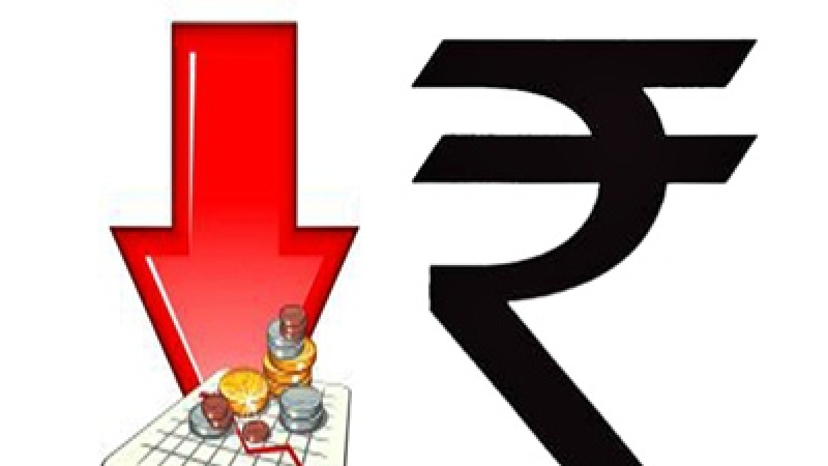 Rupee tumbles to hit a new record low of 76.82/$