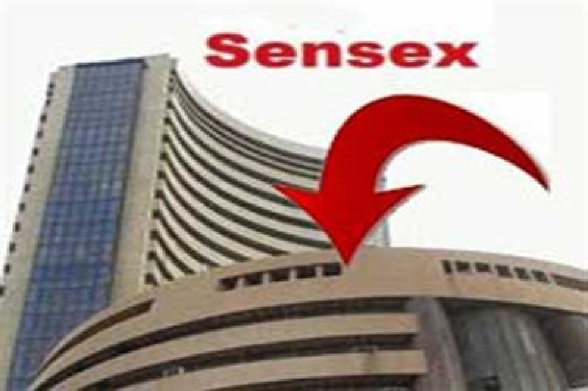 Panic selling hit markets; Sensex down over 1 percent