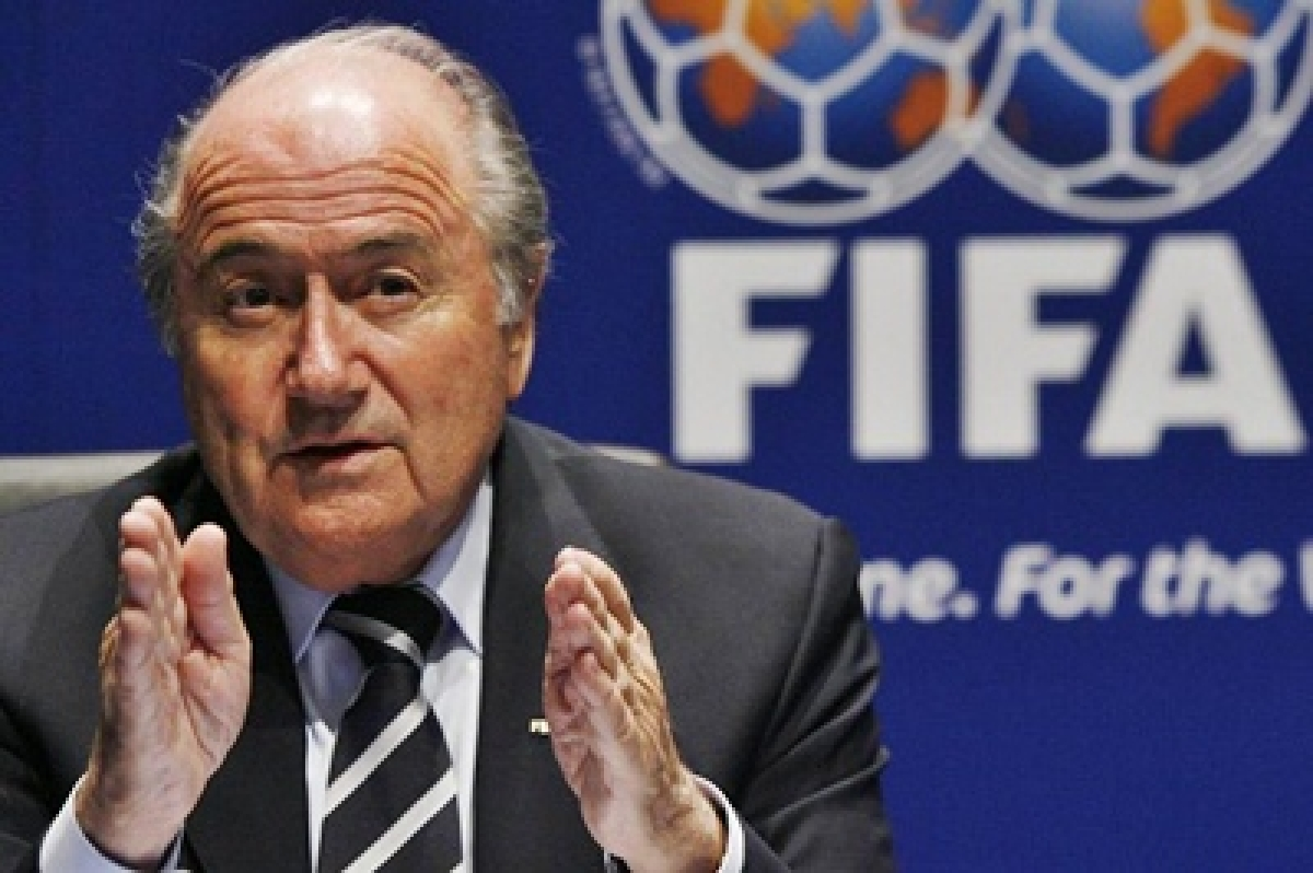FIFA deflects criticism about absence of Sepp Blatter from final