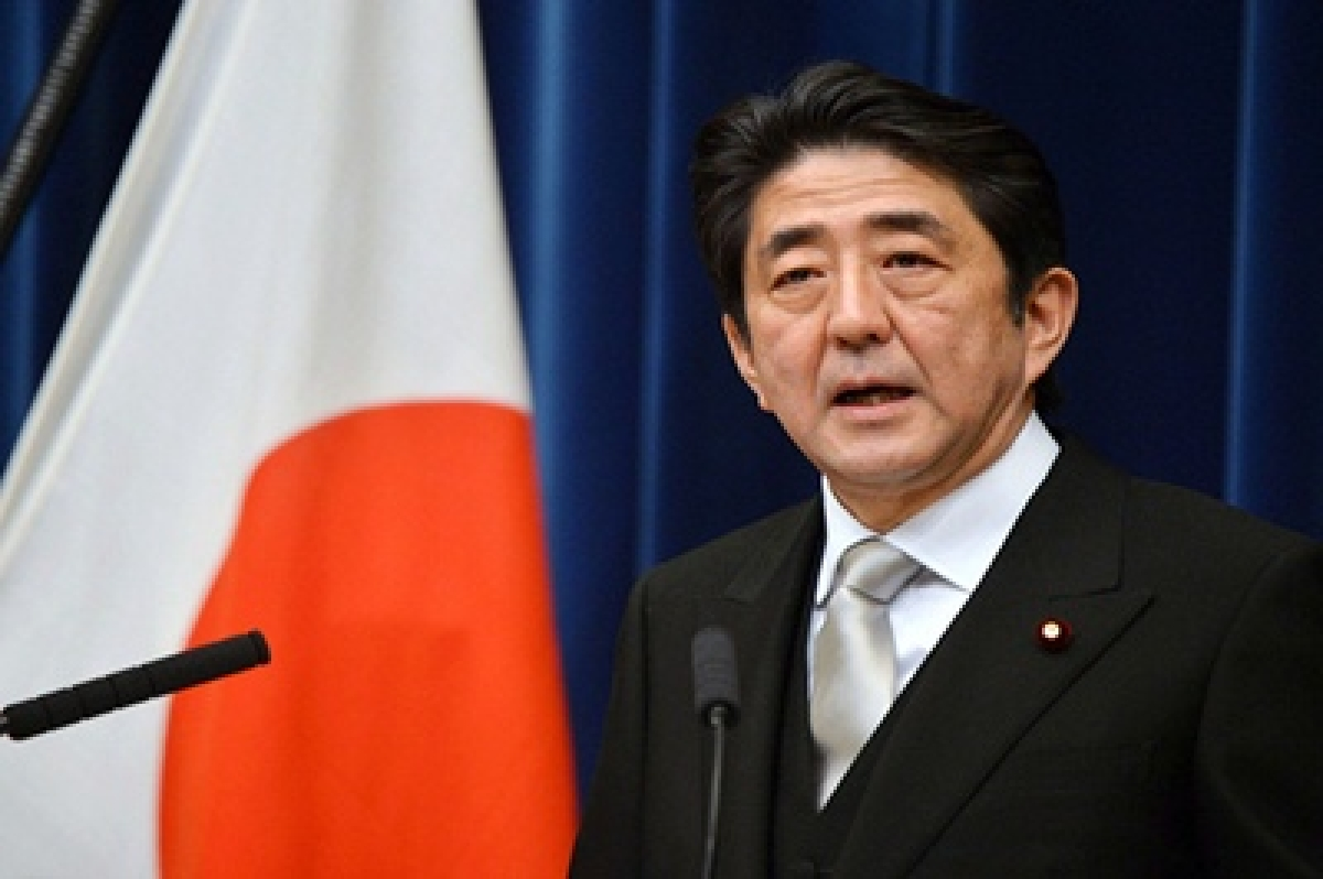 PM Shinzo Abe pledges to keep Japan out of war
