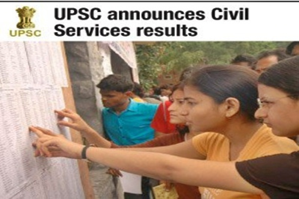 UPSC results to be declared today