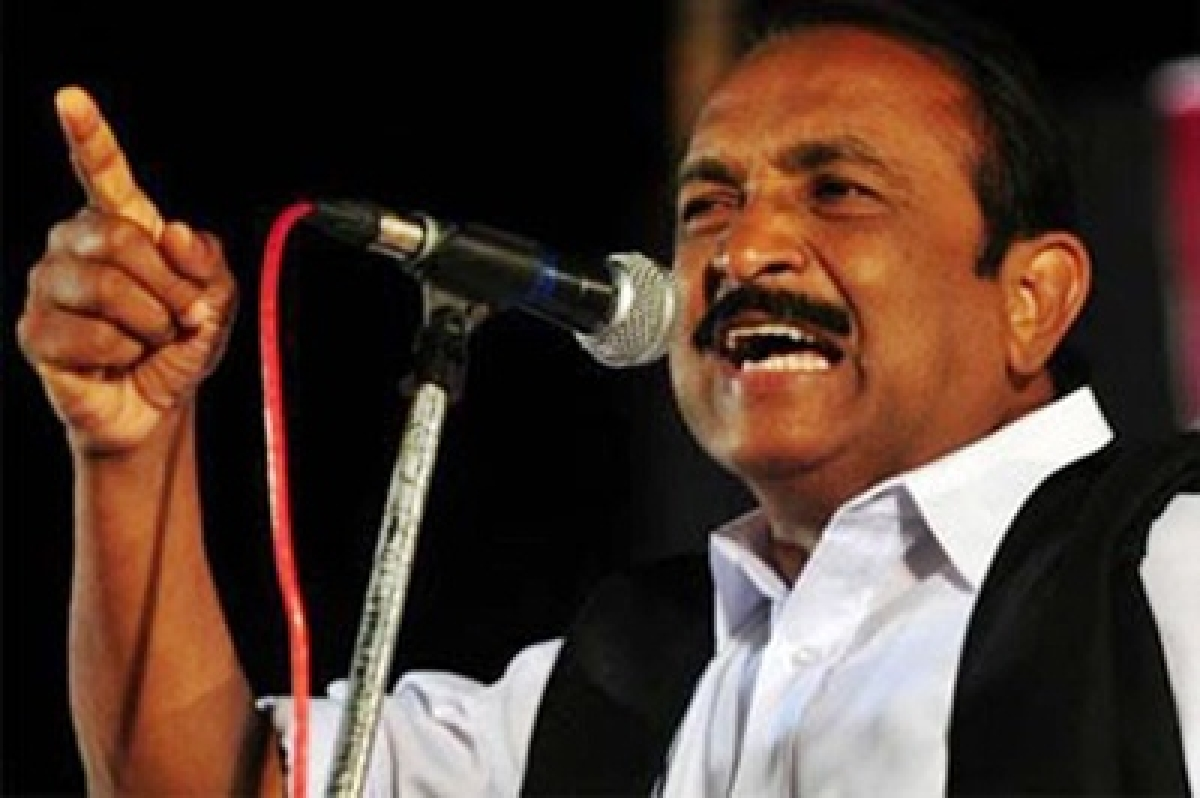 Vaiko celebrates 61st birthday of Prabhakaran