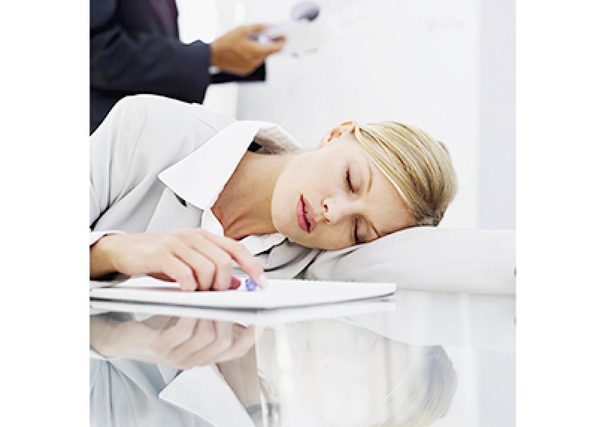 Office naps may make  you more productive