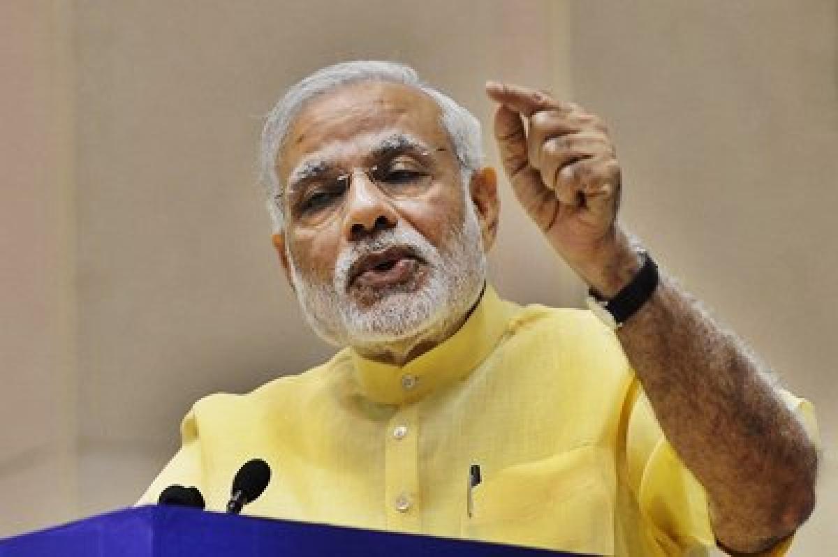 Narendra Modi deprecates political untouchability