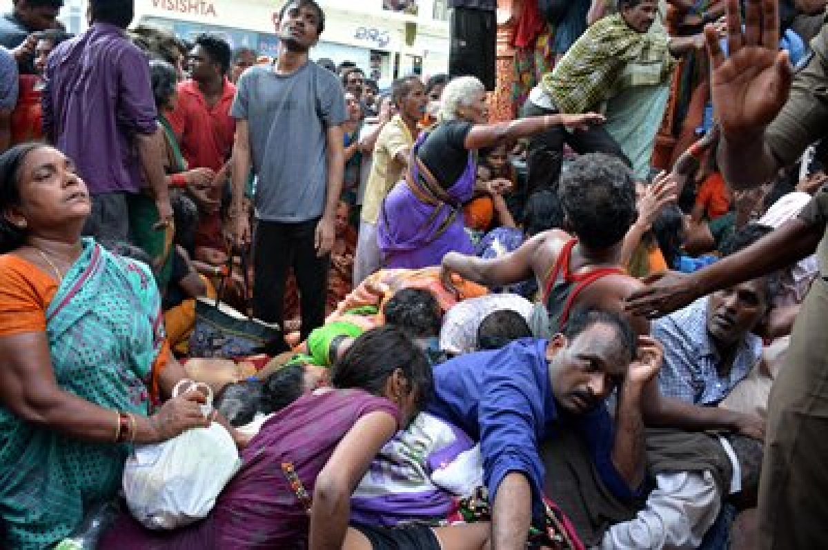 Jharkhand stampede: BJP MP takes responsibility, calls for better arrangements
