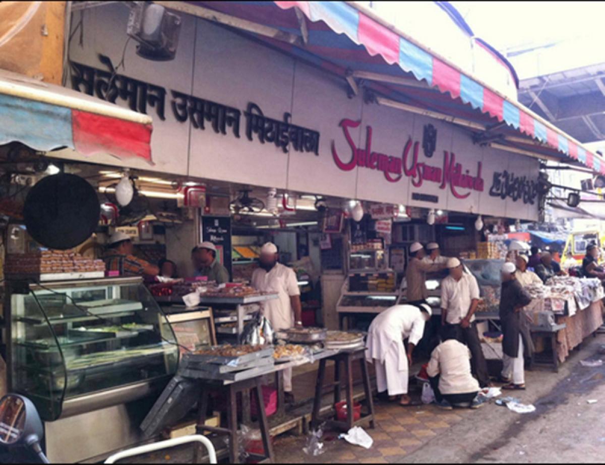 The shop of Suleiman Usman Mithaiwala Picture Credits: Zomato