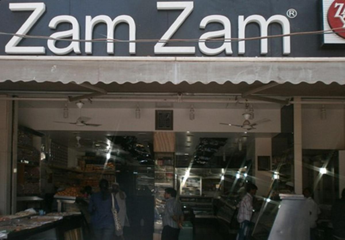 Zam Zam sweets entrance Picture Credits: Zomato