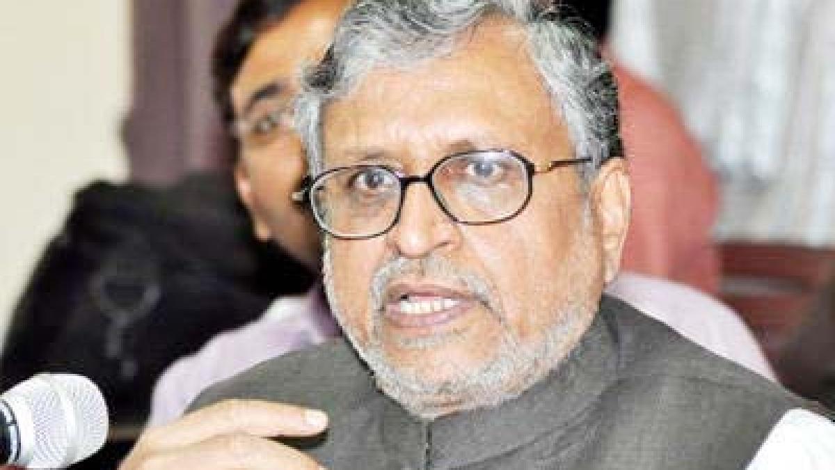 Sushil Modi, not FM Sitharam, will head GoM to settle IGST