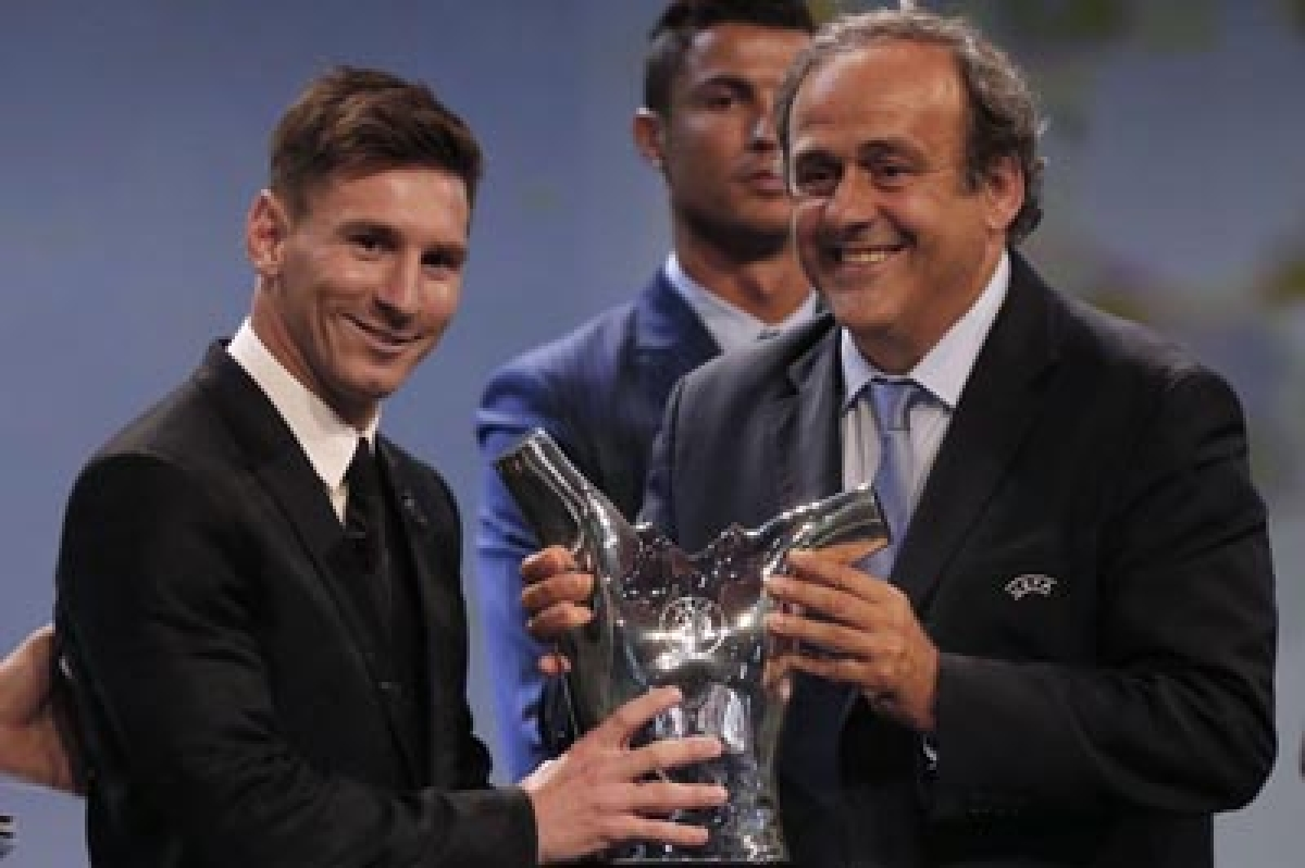 Lionel Messi wins UEFA best player award