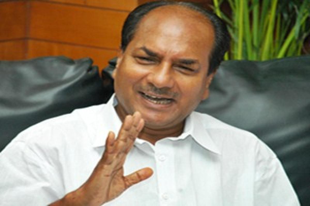 Congress will retain power in Kerala: A.K. Antony