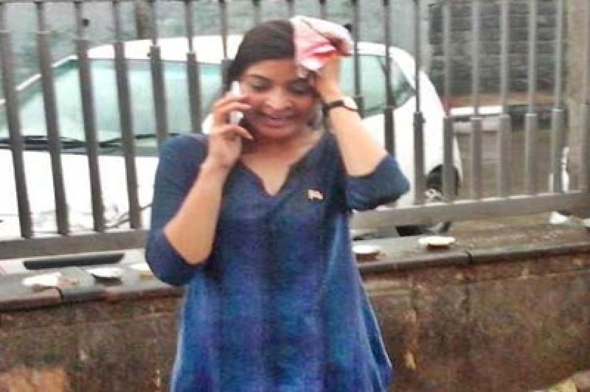 Trespass case slapped against Alka Lamba