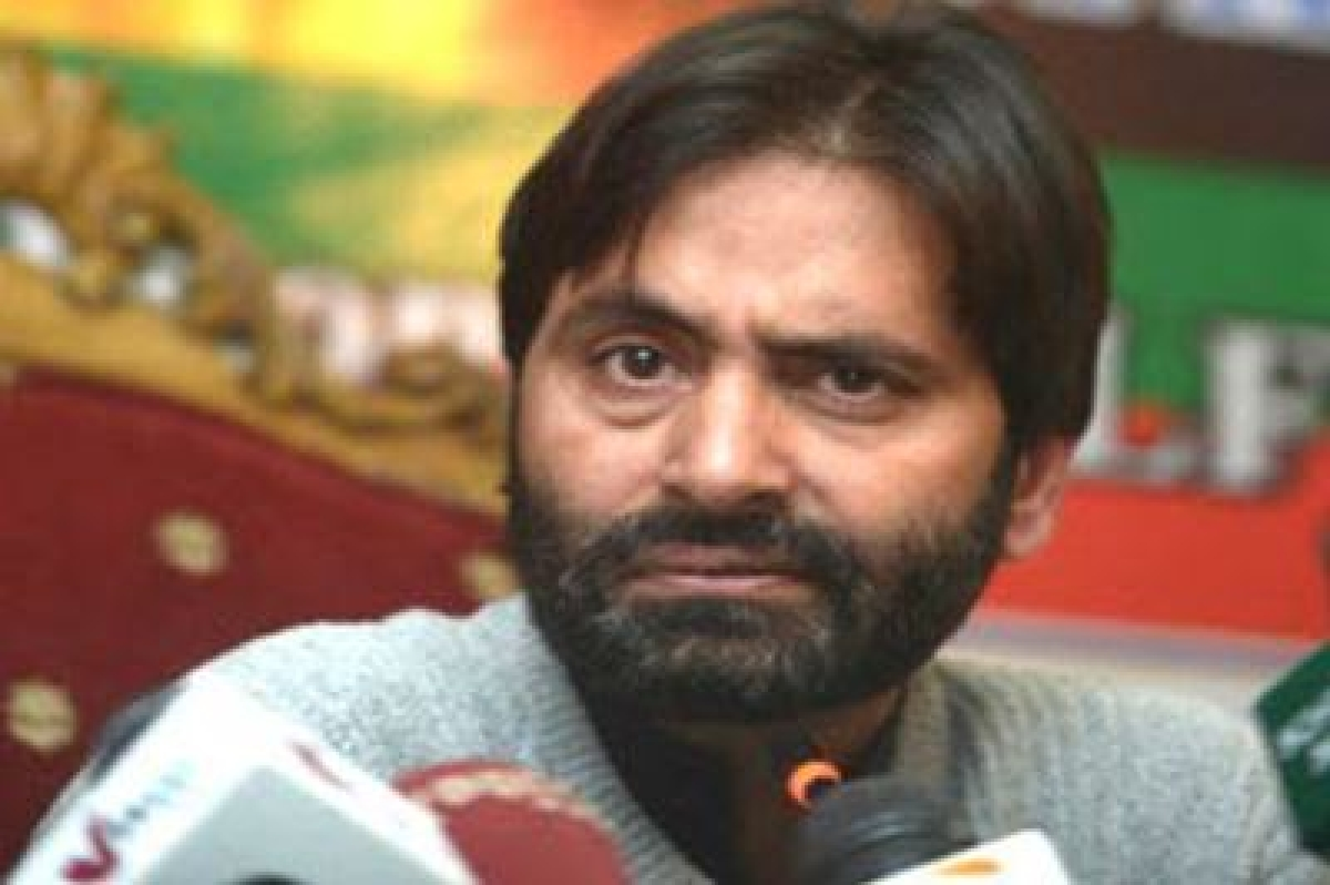 Yasin Malik hits out at Mufti government for 'stifling dissent'